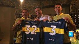 Тевес и Мас – игроки Бока Хуниорс