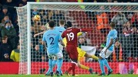 Ліверпуль у шаленому матчі із 7 голами завдав Манчестер Сіті першої поразки в сезоні АПЛ