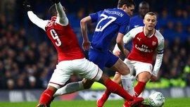 Челсі та Арсенал не змогли виявити сильнішого в першому півфіналі Кубка ліги