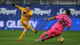 Эйбар – Атлетико – 0:1 – видео гола и обзор матча
