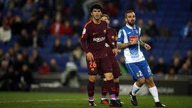 Эспаньол – Барселона – 1:0 – видео гола и обзор матча