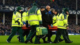 Защитник Эвертона Джеймс Маккарти получил двойной перелом ноги