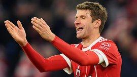 Мюллер забил 100 мячей за Баварию в Бундеслиге – до него это сделали лишь четверо
