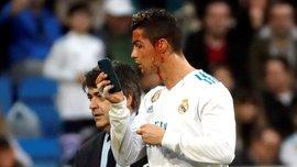 Роналду разбили лицо, когда он забивал гол в ворота Депортиво – Криштиану был разочарован своим видом