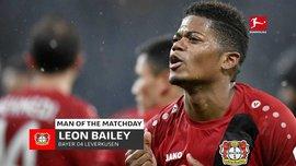 Леон Байли стал лучшим игроком 19 тура Бундеслиги