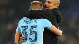 Бристоль Сити – Манчестер Сити: Зинченко начинает матч в стартовом составе