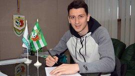 Гончар підписав контракт з Ворсклою