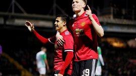 Кубок Англії: Манчестер Юнайтед розгромив Йовіл у дебютному матчі Санчеса, чилієць взяв участь в двох голах