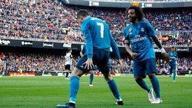 Реал розгромив Валенсію в неоднозначному матчі: Роналду і Марсело показали зуби, екс-захисник Барси привіз 2 пенальті