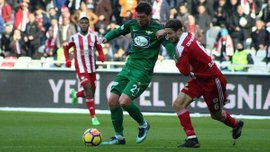 Селезнев спас Акхисар Беледиеспор от поражения, забив гол на 90+1 минуте