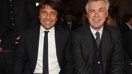 Анчелотті та Конте в шорт-листі кандидатів на посаду керманича збірної Італії