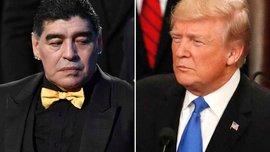 Марадоні відмовили у в'їзді в США через образу Трампа