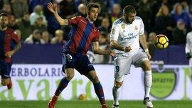 Леванте – Реал – 2:2 – видео голов и обзор матча