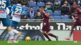 Эспаньол – Барселона – 1:1 – видео голов и обзор матча