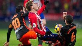 Атлетіко здолав Валенсію в центральному матчі – конфлікт Грізманна зі своїми фанами, вибиті зуби і гол-ракета