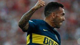 Тевес забив перший гол за Бока Хуніорс після повернення у день свого 34-річчя