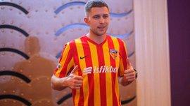 Кравець забив дебютний гол за Кайсеріспор