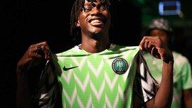 Nike представил оригинальный комплект формы сборной Нигерии