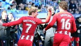 Малага – Атлетіко: Грізманн забив на 39 секунді та присвятив гол покійному футболісту Альсіри
