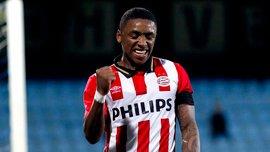 Юный талант ПСВ Бергвейн отличился двумя великолепными голами в матче чемпионата Нидерландов