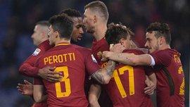 Рома – Беневенто – 5:2 – видео голов и обзор матча