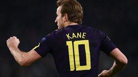 Кейн – перший гравець Ліги чемпіонів, який забив 9 голів у перших 9 матчах турніру