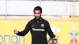 Хавбек АЕКа Шоджаей не зіграє з Динамо через застуду