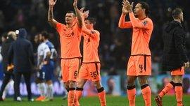 Порту – Ліверпуль – 0:5 – відео голів та огляд матчу