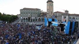 Президент Аталанты Антонио Перкасси расплакался, когда 5 тысяч болельщиков из Бергамо скандировали его имя в Дортмунде