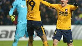 Лига Европы: Атлетико на выезде разгромил Копенгаген, РБ Лейпциг одержал волевую победу над Наполи