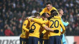 Копенгаген – Атлетико – 1:4 – видео голов и обзор матча