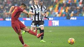 Рома переграла Удінезе перед матчем з Шахтарем, Ундер знову красиво забив