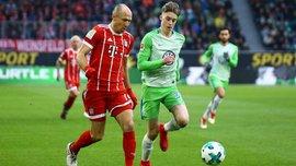 Вольфсбург – Бавария – 1:2 – видео голов и обзор матча