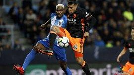 Идейе забил дебютный гол за Малагу
