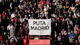 Фанати ПСЖ продемонстрували провокаційний банер на адресу Реала