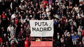 Фанаты ПСЖ продемонстрировали провокационный баннер в адрес Реала