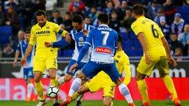 Эспаньол – Вильярреал – 1:1 – видео голов и обзор матча