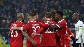 Бавария в большинстве разгромила Бешикташ: обзор матча