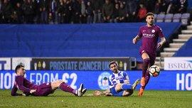 Уиган – Манчестер Сити – 1:0 – видео гола и обзор матча