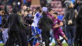 Манчестер Сити и Уиган должны дать объяснения Футбольной ассоциации Англии касательно стычки Гвардиолы и Кука