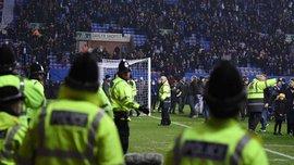 Полиция расследует выбегание болельщиков Уигана на поле после матча с Манчестер Сити