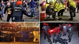 Атлетік – Спартак: російські фанати влаштували криваву бійню, загинув поліцейський
