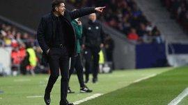 Симеоне прокомментировал выход Атлетико в 1/8 финала Лиги Европы