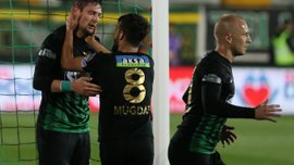 Селезньов оформив дубль за Акхісар Беледієспор в матчі проти Коньяспора
