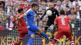 Маліновський феноменальним ударом зі штрафного вивів Генк вперед у матчі з Антверпеном
