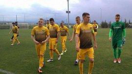 СК Днепр-1 победил Оддер в контрольном матче