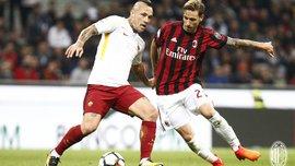 Милан сенсационно победил Рому на выезде