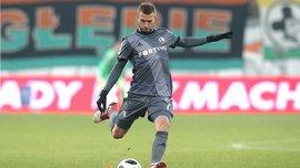 Гравець Легії Антоліч отримав червону картку замість жовтої після перегляду арбітром відеоповтору епізоду