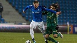 Хобленко забил дебютный гол в чемпионате Польши, Лех победил Шленск