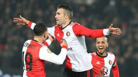 Ван Перси забил 300-й гол в карьере и помог Фейеноорду выйти в финал Кубка Нидерландов